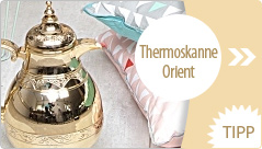 Presenttime Thermoskanne Orient gold
