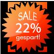 ALLES MUSS RAUS - Jetzt Schnäppchen sichern und 22% sparen!