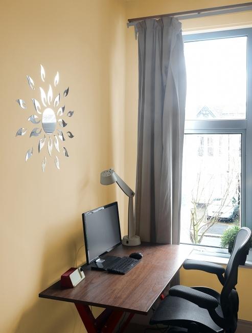 spiegel wandsticker sonne w schek rbe badzubeh r art. Black Bedroom Furniture Sets. Home Design Ideas