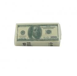 Taschentücher 100 Dollar-Scheine