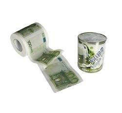 Toilettenpapier 100 Euro Geldnote
