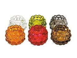 Presenttime Teelichthalter Himbeere 6er Set