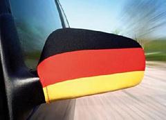 Spiegelfahne Deutschland 2er Set