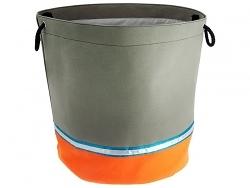 JIP Aufbewahrungskorb Segeltuch grau/orange