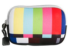 Masken-Tasche TV Testbild