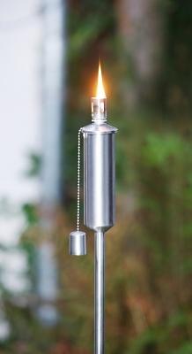Öllampe Leuchtfeuer auf Stab für den Garten