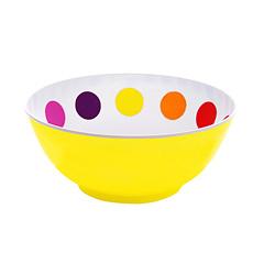 Presenttime Schale Multi Dot gelb