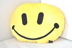 Rockdaddy Kissen Smiley gelb
