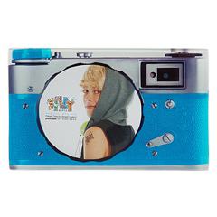 Silly Gifts Motiv-Bilderrahmen Kamera blau