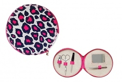 Silly Gifts Maniküre-Set Leopard pink
