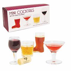DCI Mini Cocktail Shots 4er Set