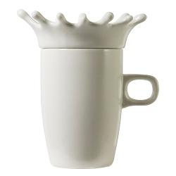 Invotis Tasse Splash mit Deckel