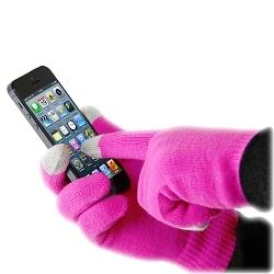 Smart Glove pink Spezialhandschuh für iPhone/iPad