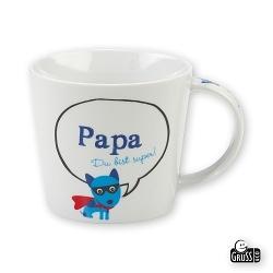 Gruss & Co Tasse Papa Du bist super!