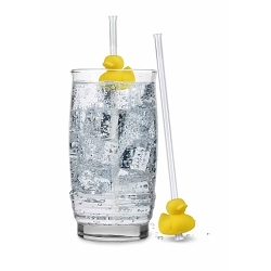Fred Duck Drink Strohhalm 2er Set Ente
