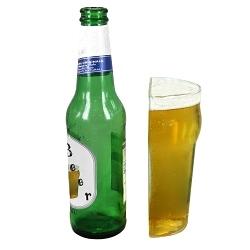 Halbes Bierglas Half Pint 0,25 Liter
