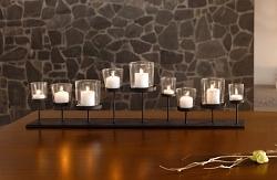Kerzenleiste Lichterboard 10-teilig