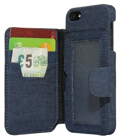 iWallet Jeans Case für iPhone 5/5S