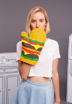 Woouf Ofenhandschuh Burger