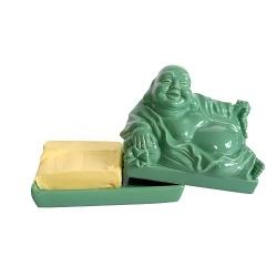 Invotis Butterdose Buddha grün