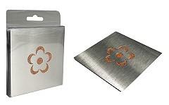 Silly Gifts Glas-Untersetzer Blumen 4er Set