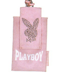 Playboy Handytasche Strass Bunny rosa