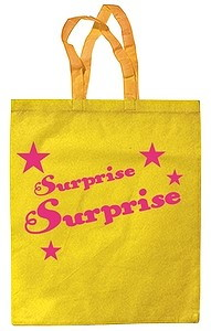 Tasche Surprise gelb