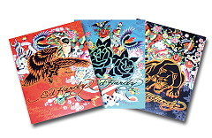 Ed Hardy All Over Heft 3er Set