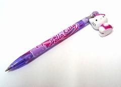 Hello Kitty Kugelschreiber lila