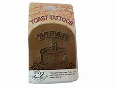 Toast-Stempel Geburtstag Happy Birthday Torte