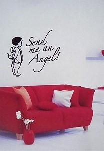 Wandtattoo Amor Send me an Angel