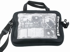 Wanted Laptop-Tasche X-Ray Röntgenbild