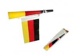 Fußball-Tröte Deutschland mit Flagge