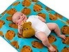JIP Babydecke Affe blau 80x100cm