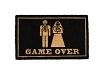 Fußabtreter Game Over 45x75cm
