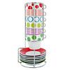 Presenttime Tassenständer Espresso Dots & Stripes