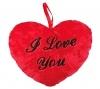 Herzkissen I Love You rot 9cm