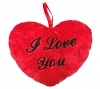 Herzkissen I Love You rot 26cm