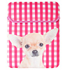 Silly Gifts iPad Tasche Paris the Dog pink/weiß