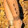 Flash Tattoo Orient gold/silber 8-teilig