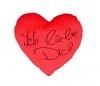 Herzkissen Ich liebe Dich rot 18cm