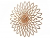 Karlsson Wanduhr Sunflower hell 60cm
