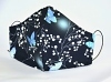 Jersey-Baumwoll-Maske Butterfly & Sparkl mit Filterfach-Option