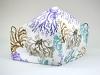 Baumwollmaske Korallen mit Filterfach-Option und verstellbaren Gummibändern