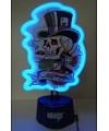 Ed Hardy Neonlampe Aces & Dice