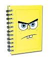 Spongebob A6 Notizbuch